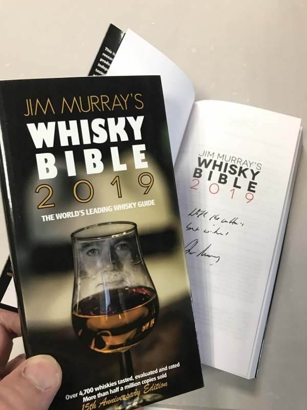 Jim Murray´s Whisky Bibel: HANDSIGNIERT